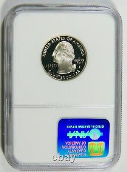 1999 S Proof Silver 25c Delaware NGC PF 70 Ultra Cameo