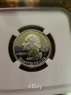 1999-S Silver Delaware 25C NGC PF70 Ultra Cameo State Quarter 4872326-060