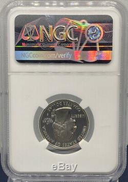 1999 S Silver Delaware NGC PF70 Ultra Cameo