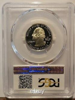 1999 S Silver Delaware State Quarter PCGS PR70DCAM