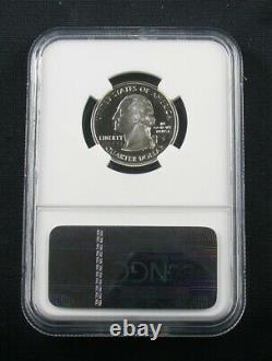 1999 S Silver New Jersey State Proof Quarter Ngc Pf 70