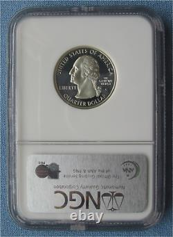1999 S Silver Proof Delaware State Quarter NGC PF 70 Ultra Cameo (25C pr70)