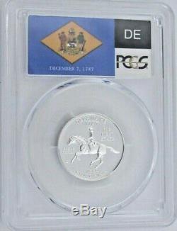 1999 S Silver Proof Delaware State Quarter PCGS PR 70 DCAM Deep Cameo (9264)