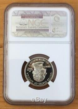 1999 S Silver Quarter Delaware Ngc Pf70 Ultra Cameo 3688679-002