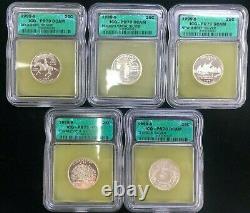 1999 S Silver State Quarter Proofs ICG PR70 DCAM