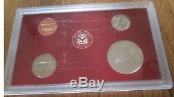 1999 Silver Proof Set 10 Sets U. S. Mint Box and COA 5 State Silver Quarters