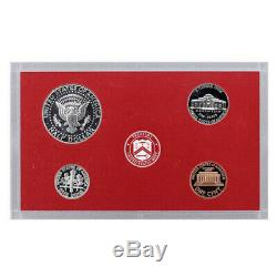 1999 Silver Proof set 10 Pack Kennedy, State Quarters (OGP) 90 coins