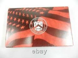 1999 Us Silver Proof Set, Box & Coa, State Quarters, Complete Ogp