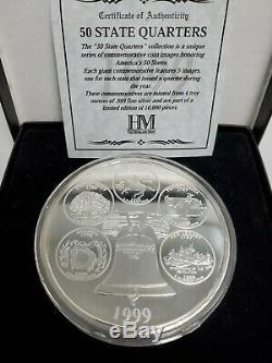 1999 Washington State Quarter 4 Troy oz Silver Quarter