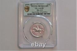 1999 Washington Statehood Quarter Delaware Silver PCGS PR70 DCAM Registry Rank#1