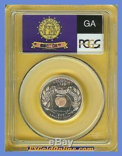 1999 s Georgia Quarter Silver PCGS PR70 Flag Haze & Spot Free
