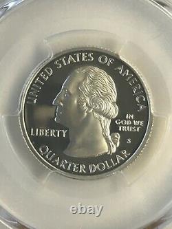 1999-s Pcgs Pr70dcam Pennsylvania Silver State Quarter