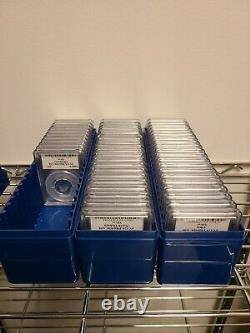 1999 to 2008 Silver Proof Statehood Washington Quarters PCGS PR69DCAM 50 Coins