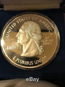 1 Pound. 999 14.532 Troy Oz Fine Silver US Statehood Quarter Commemorative 452gr