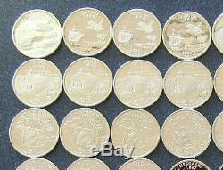 (1) Roll Mixed State Proof Quarters 90% Silver Coins $10 Face Value #1777