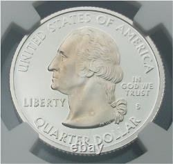 2000 S Silver Proof New Hampshire State Quarter NGC PF 70 Ultra Cameo (25C pr70)
