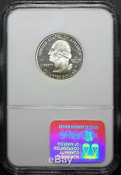 2000 S Silver Virginia Proof Quarter Ngc Pf 70 Uc (ultra Cameo)