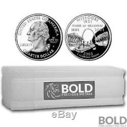 2003-S Silver Proof State Quarter Roll (40 Coins) MISSOURI