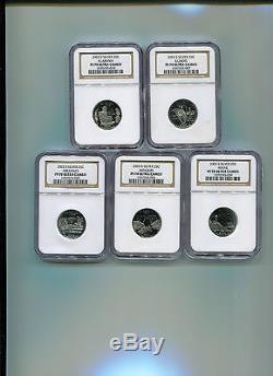 2003-S Silver Statehood Quarter Set NGC PF70 UCAM