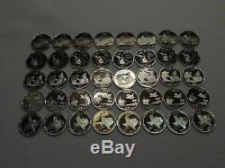 2004 & 2005 S State Quarter Proof Roll Gem Deep Cameo Five Rolls (200 Coins)