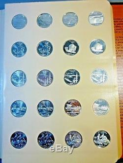 2004 2008 State Quarters Set P & D From Mint Sets, Proofs, Silver Proofs