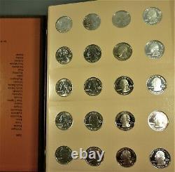2004-2008 Statehood Quarter Set in Dansco Album BU P & D+ Proofs+ Silver Proofs