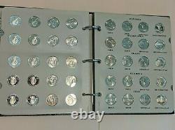 2004-2009 Littleton State Quarters 90% Silver P/D/S/S 25c Complete Set 124 Coins