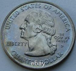 2004-D Wisconsin Washington Quarter Extra Leaf Low Error BU (MS+++++)