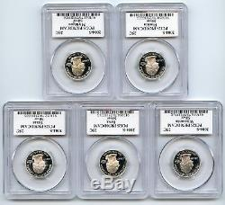 2004 S Silver State Quarter Set PCGS PR70DCAM