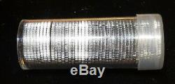 2004-S Wisconsin WI Silver Proof Quarter roll 40 GEM coins tube $10 Face Value