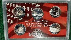 2005, 2006, 2007 and 2008 State Quarters Silver Proof Sets, Free Shipping