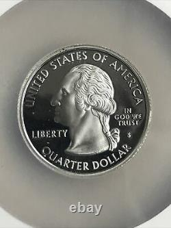 2005-s Ngc Pf 70 Ultra Cameo Silver State Quarters Set (bright Coins/no Toning)