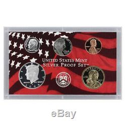 2006 Silver Proof set 10 Pack Kennedy, State quarters (OGP) 100 coins