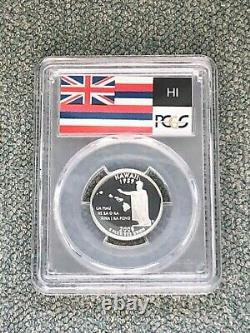 2008 S Silver Hawaii Quarter 25C PR70DCAM PCGS SET BREAK
