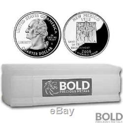 2008-S Silver Proof State Quarter Roll (40 Coins) NEW MEXICO
