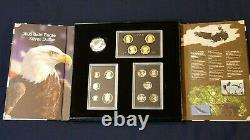 2008 US MINT AMERICAN LEGACY COLLECTION PROOF SET WithState quarters+$1Pres. Coins