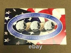 200 STATE QUARTERS-Complete 1999-2008 Coin Set-Gold Platinum Denver Philly Mint