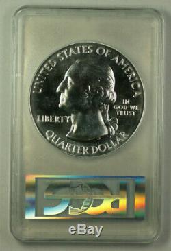 2011 Glacier Montana State 25c Quarter 5 Oz Silver Coin PCGS MS-69 DMPL