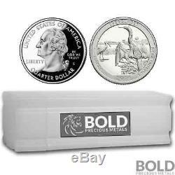 2014-S Silver Proof ATB Quarter Roll (40 Coins) EVERGLADES