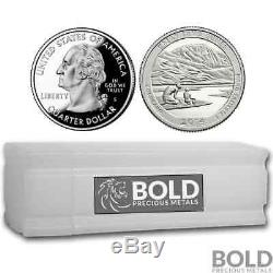 2014-S Silver Proof ATB Quarter Roll (40 Coins) GREAT SAND DUNES