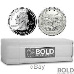 2014-S Silver Proof ATB Quarter Roll (40 Coins) GREAT SMOKY MOUNTAINS