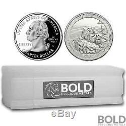 2014-S Silver Proof ATB Quarter Roll (40 Coins) SHENANDOAH
