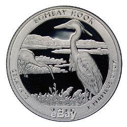 2015 S Parks Quarter ATB Proof Roll Gem Deep Cameo 90% Silver 40 US Coins
