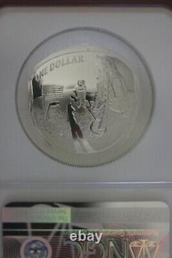 2019 P PF 70 Apollo 11 Anniversary Commemorative Silver Dollar NGC Early OCE 485