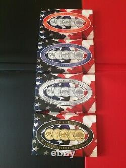 220 STATE QUARTERS-Complete 1999-2009 Coin Set-Gold Platinum Denver Philly Mint