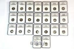 23 Silver State Quarters NGC PF 69 & PF 70 Ultra Cameo NICE LOT