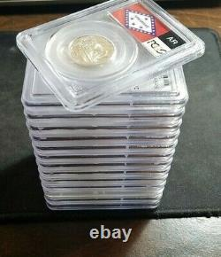 25c Silver State Quarters Pcgs Graded Pr69 (lot Of 14 Pcgs) List Of Coins Below