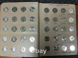 2 Dansco Albums 1999 2008 PDSS State Quarter Complete Set with SILVER PROOFS