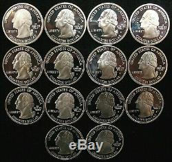 312 PROOF SILVER State Quarters! $78 Face VALUE of 90% Silver Quarters