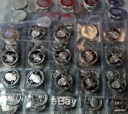375 US Silver Proof Quarters 1955 to 64 Most States Silver Proof US Silver Coins